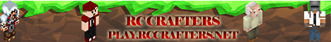 RC-Crafters minecraft server banner